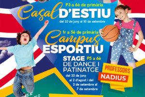 Poster Casal Estiu INF 2019